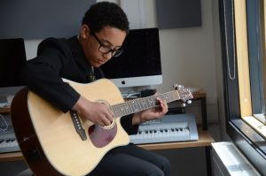 students are inspired by music